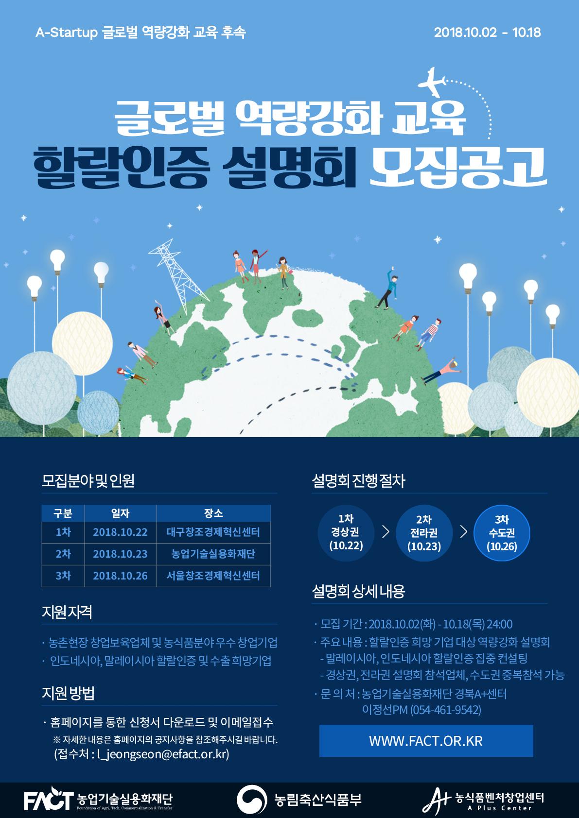 [포스터]농식품 벤처·창업 글로벌 역량강화 교육 후속 「할랄인증 설명회」.png